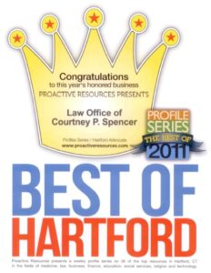 2011 Best of Hartford Badge